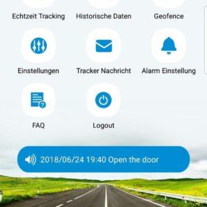 Fallenmelder App Alarmierung